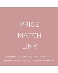 Price Match Link - Don't Purchase